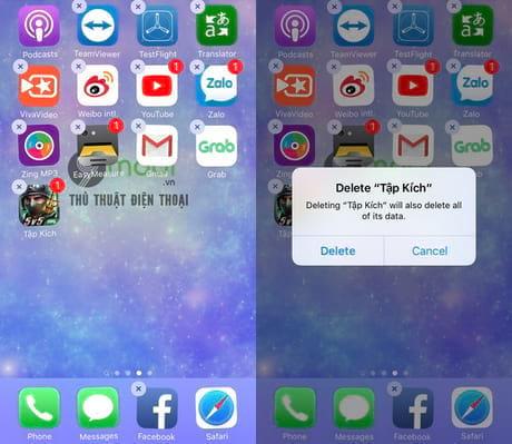 khong update duoc ung dung tren iphone ipad