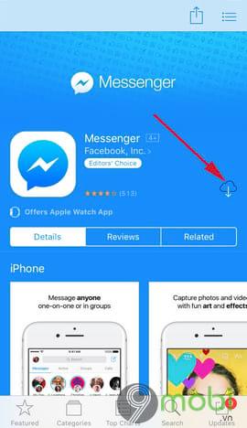 cai dat facebook messenger cho dien thoai