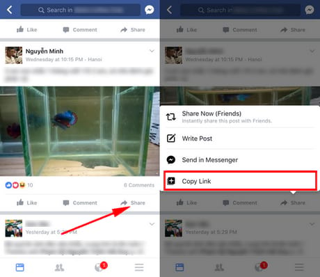 tai video facebook ve iphone