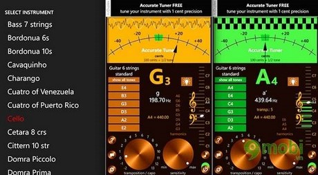 accurate tuner free for windows phone