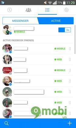 ung dung chat facebook messenger cho android, ios, windows phone