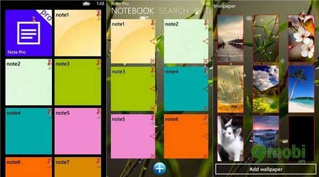ghi chu pro for windows phone