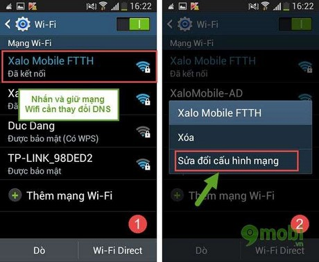 thiet lap DNS thu cong