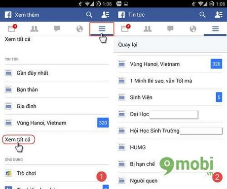 loc news feed the tuong nhom ban tren facebook