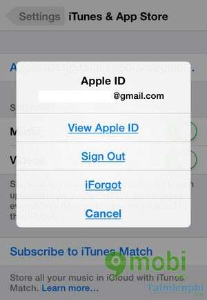 How to delete match account on iphone