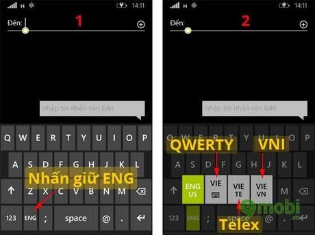 kich hoat ban phim tieng viet tren windows phone 8.1