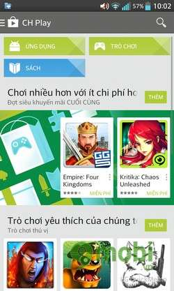 ung dung google play