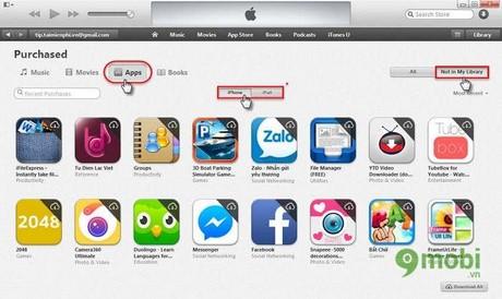 xoa lich su ung dung da cai tren app store