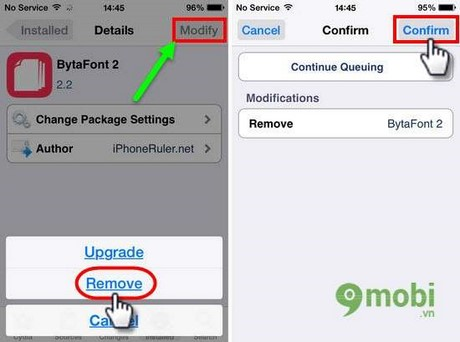 how to delete installed apps on iphone