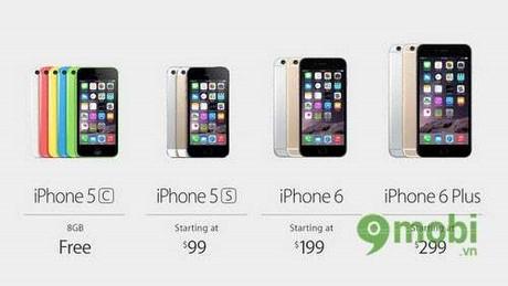 nhung diem khac biet giua iphone 6 va iphone 6 plus