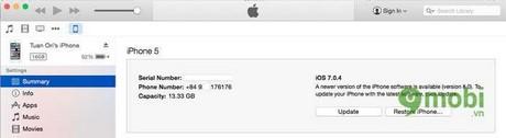 huong dan nang cap ios 8 cho iphone ipad