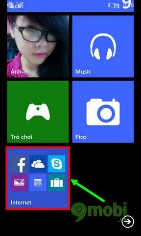 tao thu muc ung dung tren windows phone