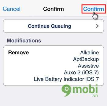 how to delete tweaks from cydia