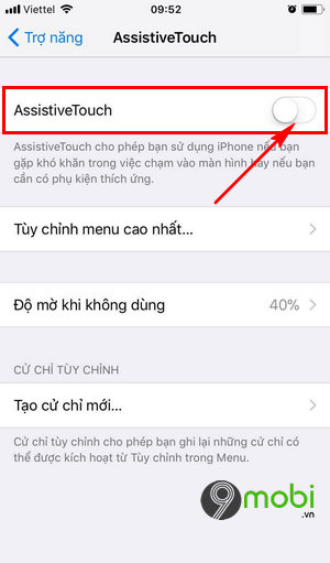 cach kich hoat Home ao iPhone
