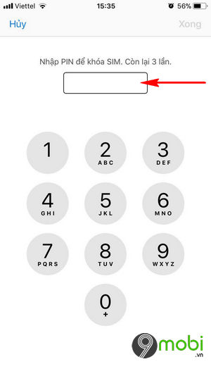 khoa sim iPHone 8