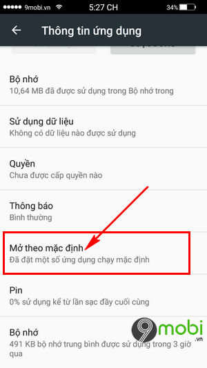 khoi phuc giao dien android mac dinh