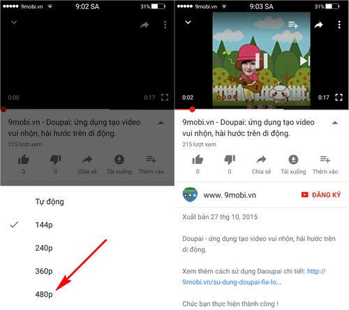 loi xem video Youtube khong co hinh