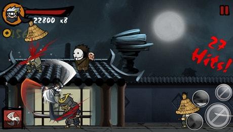 tai ninja revenge cho ios