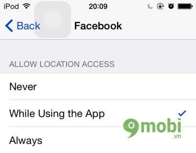 Quản lý dịch vụ định vị trên các ứng dụng của iOS 8