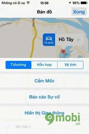 tim duong di bang google map