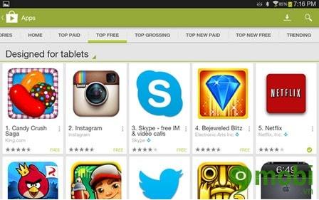 Sử dụng Google Play, cách dùng Google Play, tải ứng dụng hiệu quả hơn