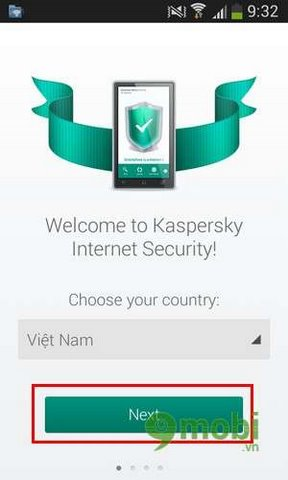 cach dung kaspersky