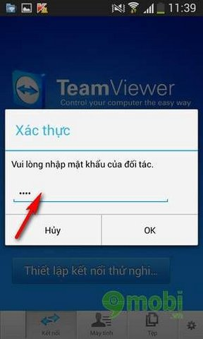 su dung teamview iphone