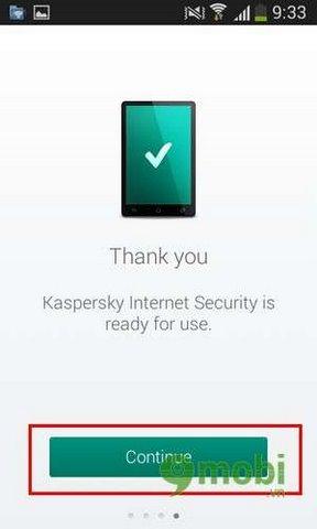 su dung kaspersky tren android