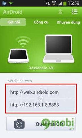 Web airdroid com on your mac