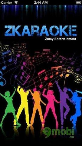 ung dung hat karaoke tren ios cua iphone 6 plus, 6, ip 5s, 5, 4s, 4