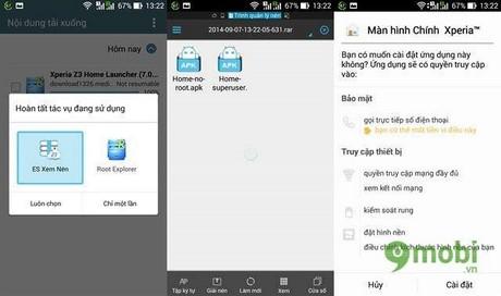 Cài Xperia Z3 Home Launcher lên mọi thiết bị Android