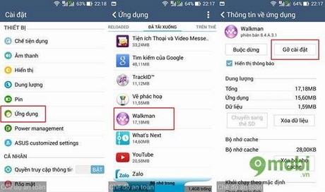su dung che do Safe Mode tren Asus Zenfone
