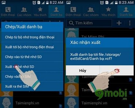 how to move contacts from android to iphone 6