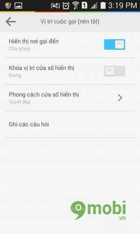 cong cu lien lac cua lbe security master 5 for android