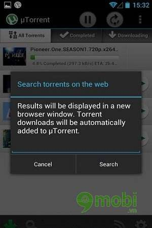 how to download torrent file in browser android