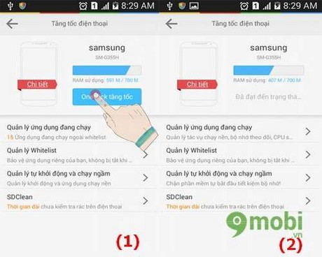 tang toc android bang lbe security master