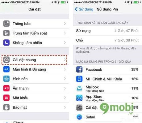 meo su dung ios 8 cho iphone 6 plus, 6, ip 5s, 5