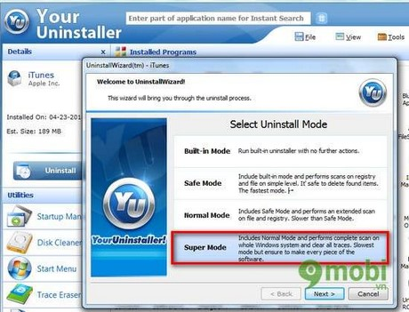 Install iTunes old and troubleshoot 11 when Restore iPhone, iPad