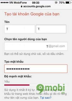 tao gmail ios tren iphone 6 plus, 6, ip 5s, 5, 4s, 4