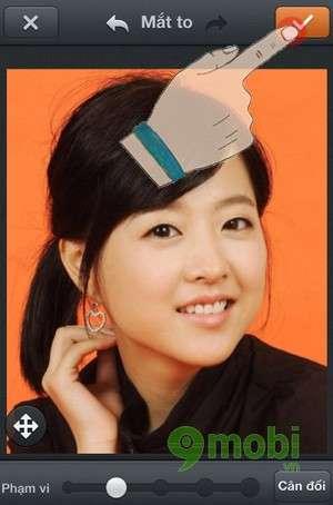 chinh mat to bang photowonder tren iphone 6 plus, 6, ip 5s, 5, 4s, 4