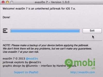 jailbreak iOS 7.0 -> iOS 7.0.6