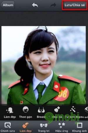 lam thon mat bang photowonder tren ios dien thoai iphone 6 plus, 6, ip 5s, 5, 4s, 4