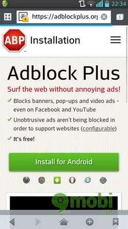 Gỡ bỏ quảng cáo trên Android