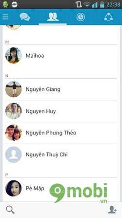 chan tin nhan zalo tren android