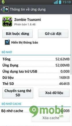 khac phuc may android chay cham