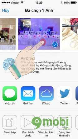 su dung airdrop cho ios tren iphone 5, 4s, 4