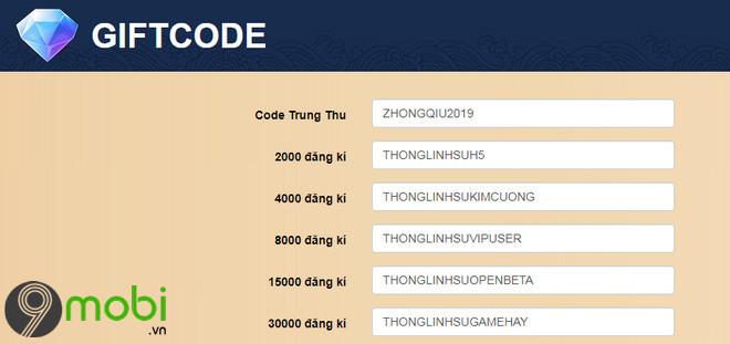 code thong linh su h5